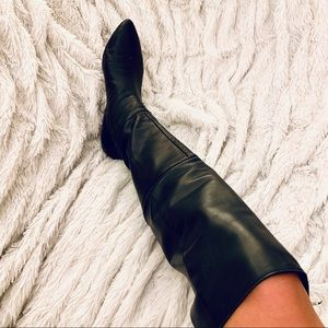Sigerson Morrison leather over the knee boots 8
